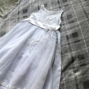 Children's flower girl dress